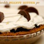 Chocolate Peanut Butter Pie!