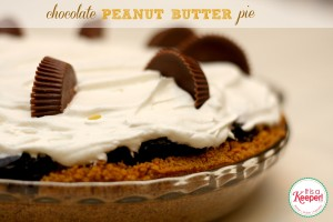 Easy Dessert Recipes Chocolate Peanut Butter Pie It's a Keeper