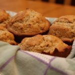 Cinnamon-Pecan Muffins