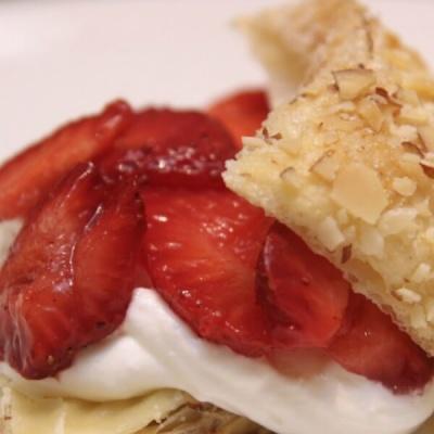 Strawberry Amaretto Pastries