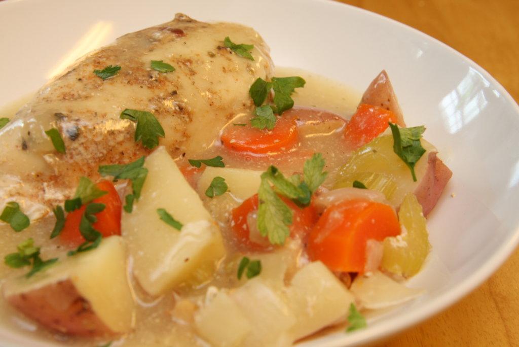 Slow Cooker Chicken Supper