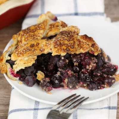 The Perfect Blueberry Pie
