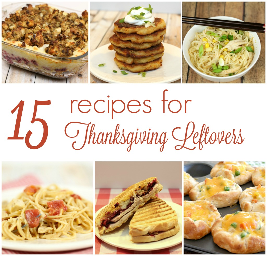 15 recipes for thanksgiving leftovers it is a keeper for Leftover thanksgiving turkey recipes