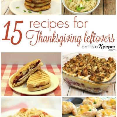 15 Recipes for Thanksgiving Leftovers
