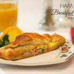 Ham and Egg Breakfast Braid