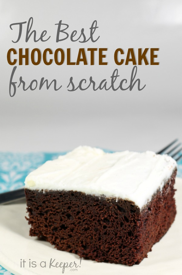 Basic Chocolate Cake Recipe - It is a Keeper