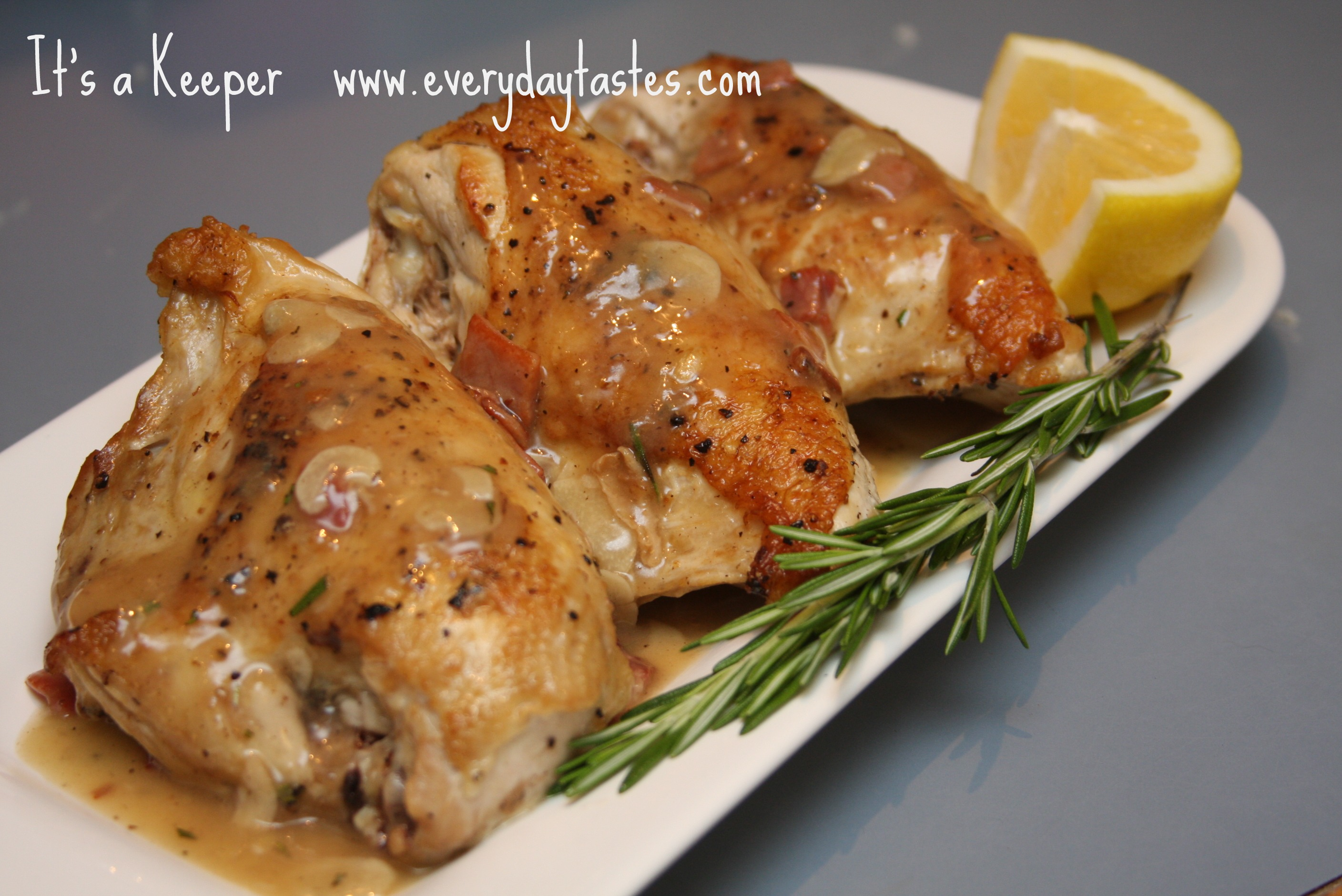 Chicken Canzanese