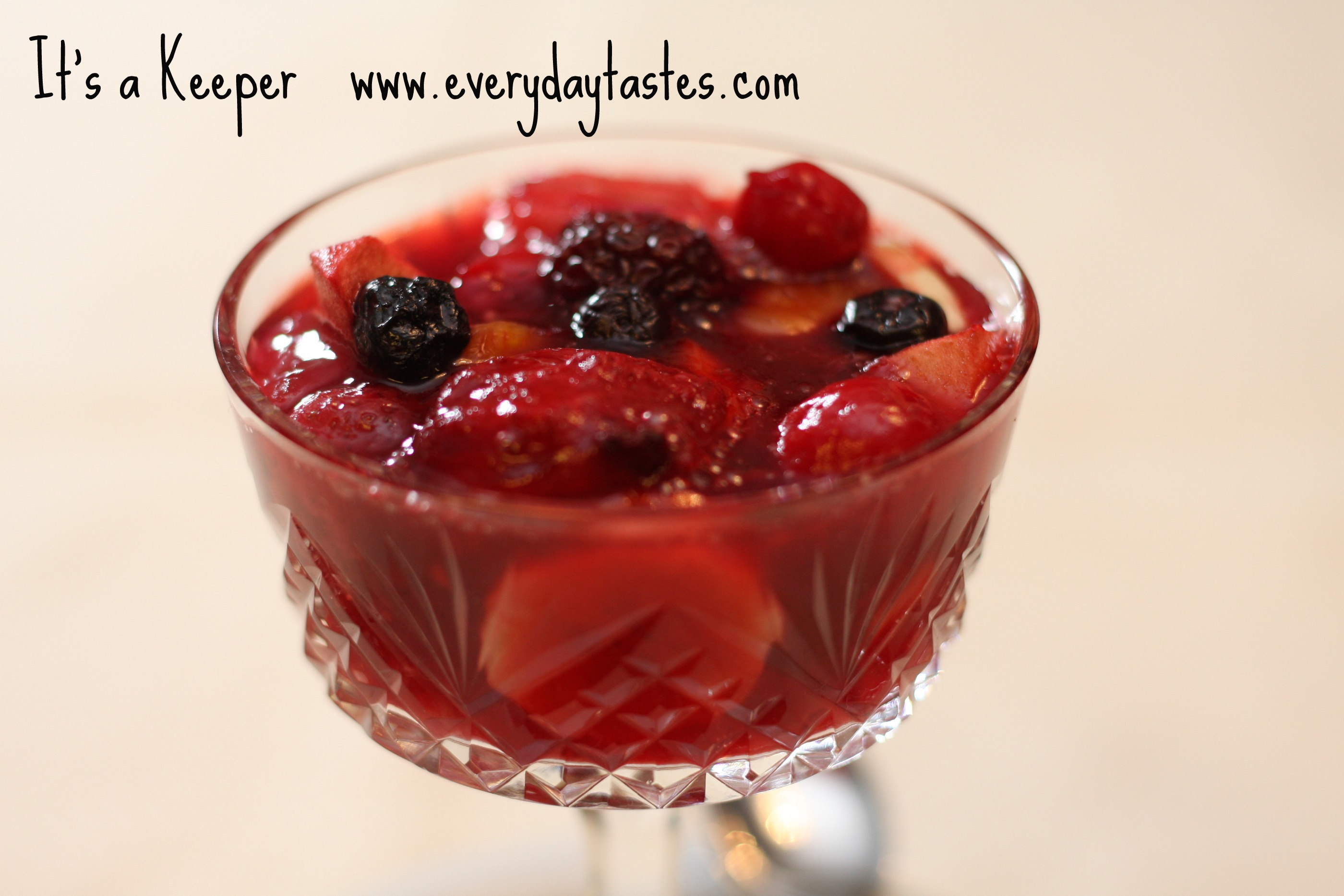 Fruit Studded Gelatin Salad