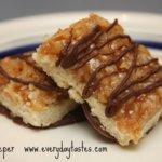 Homemade Girl Scout Cookies: Samoa Bars