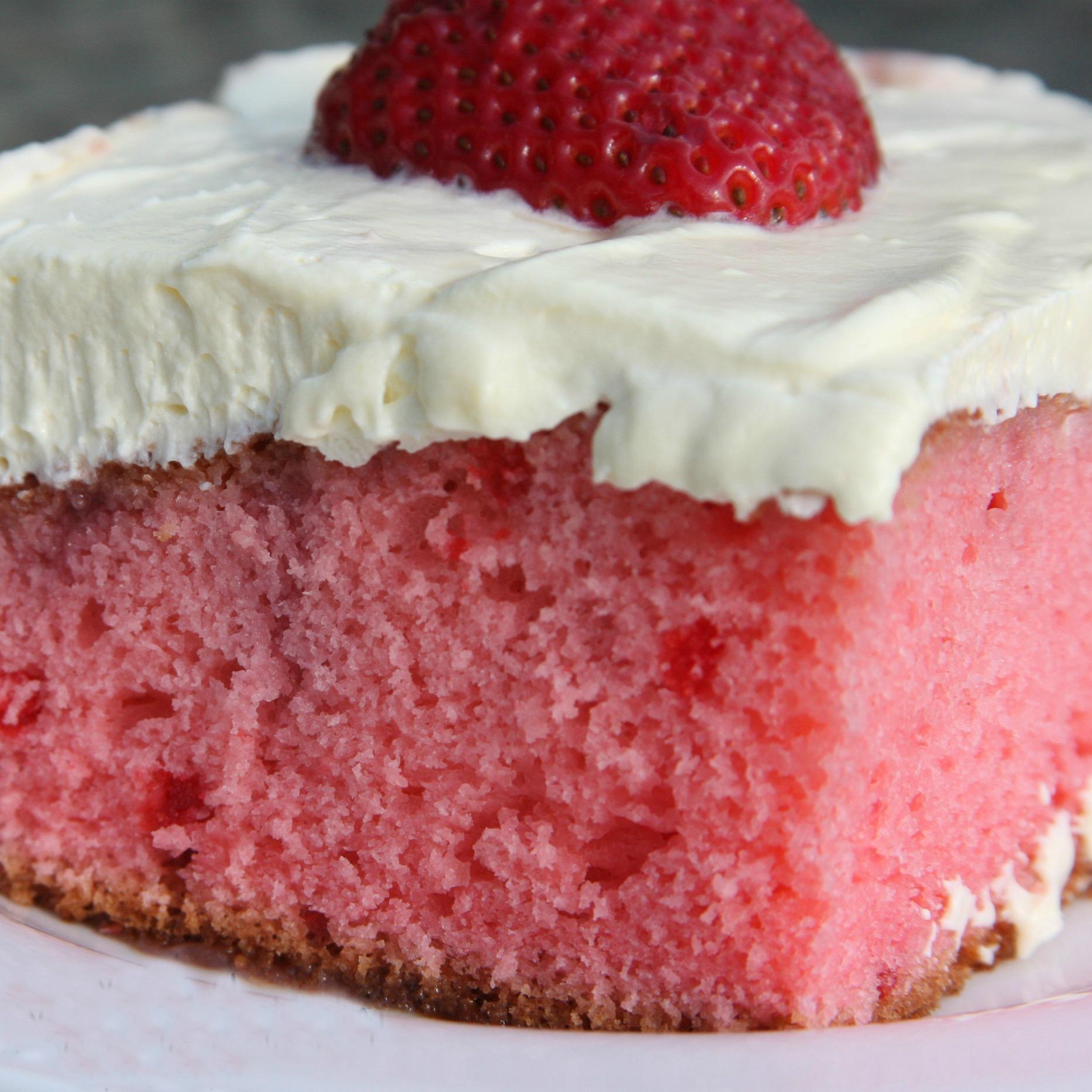 Strawberry cake mix recipes