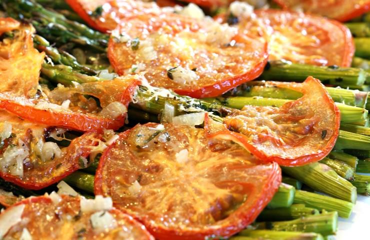 Tuscan Roasted Asparagus