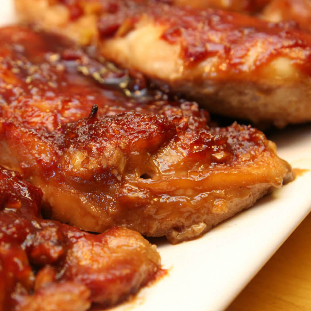 Slow Cooker Sticky Chicken This Easy Recipe Is One Of The Best Crock Pot Recipes