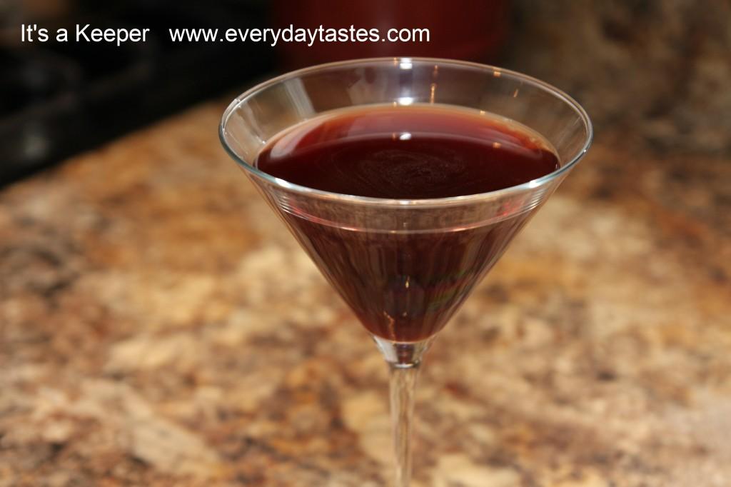 It's a Keeper Pomegranate Martini