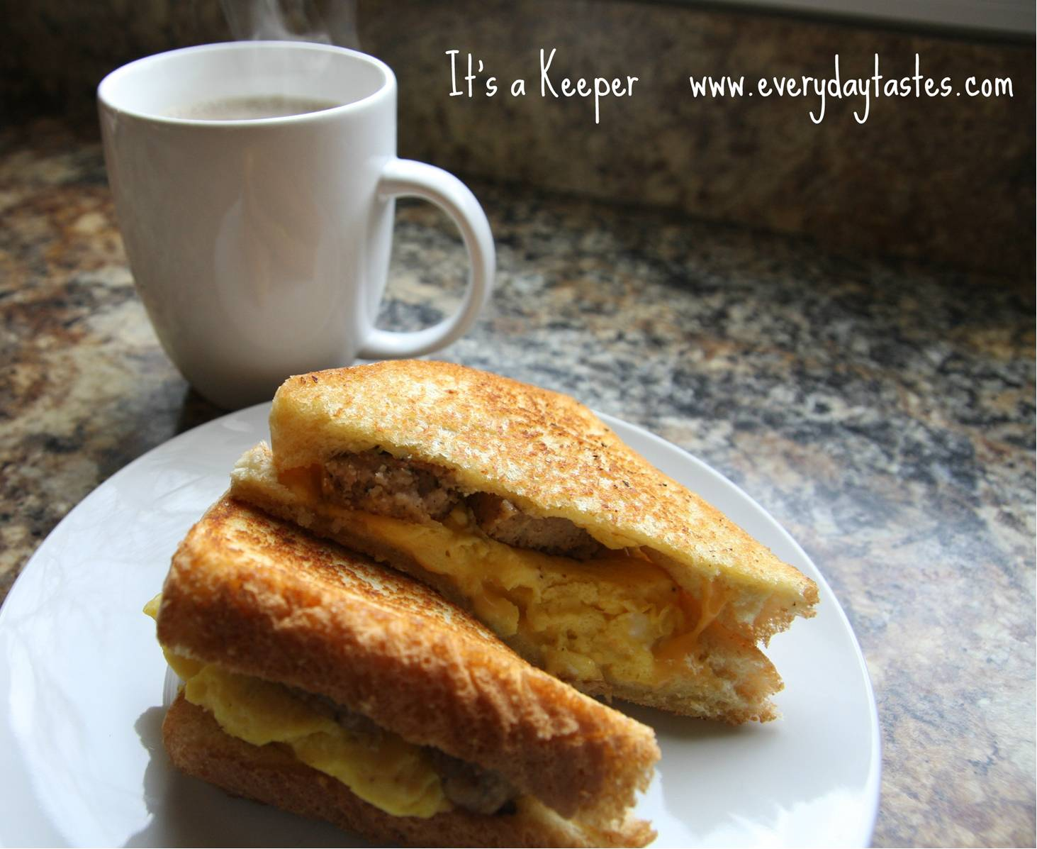 Cowboy Breakfast Sandwiches - It Is a Keeper