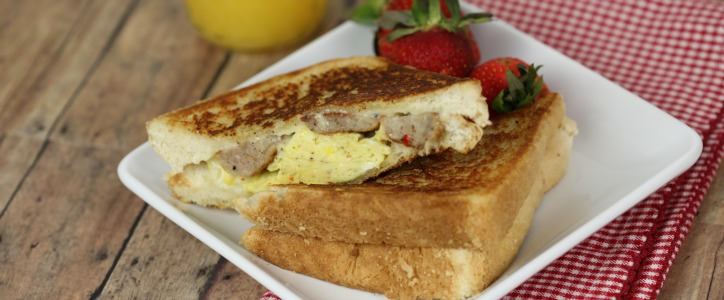 Cowboy Breakfast Sandwiches Recipe — Dishmaps
