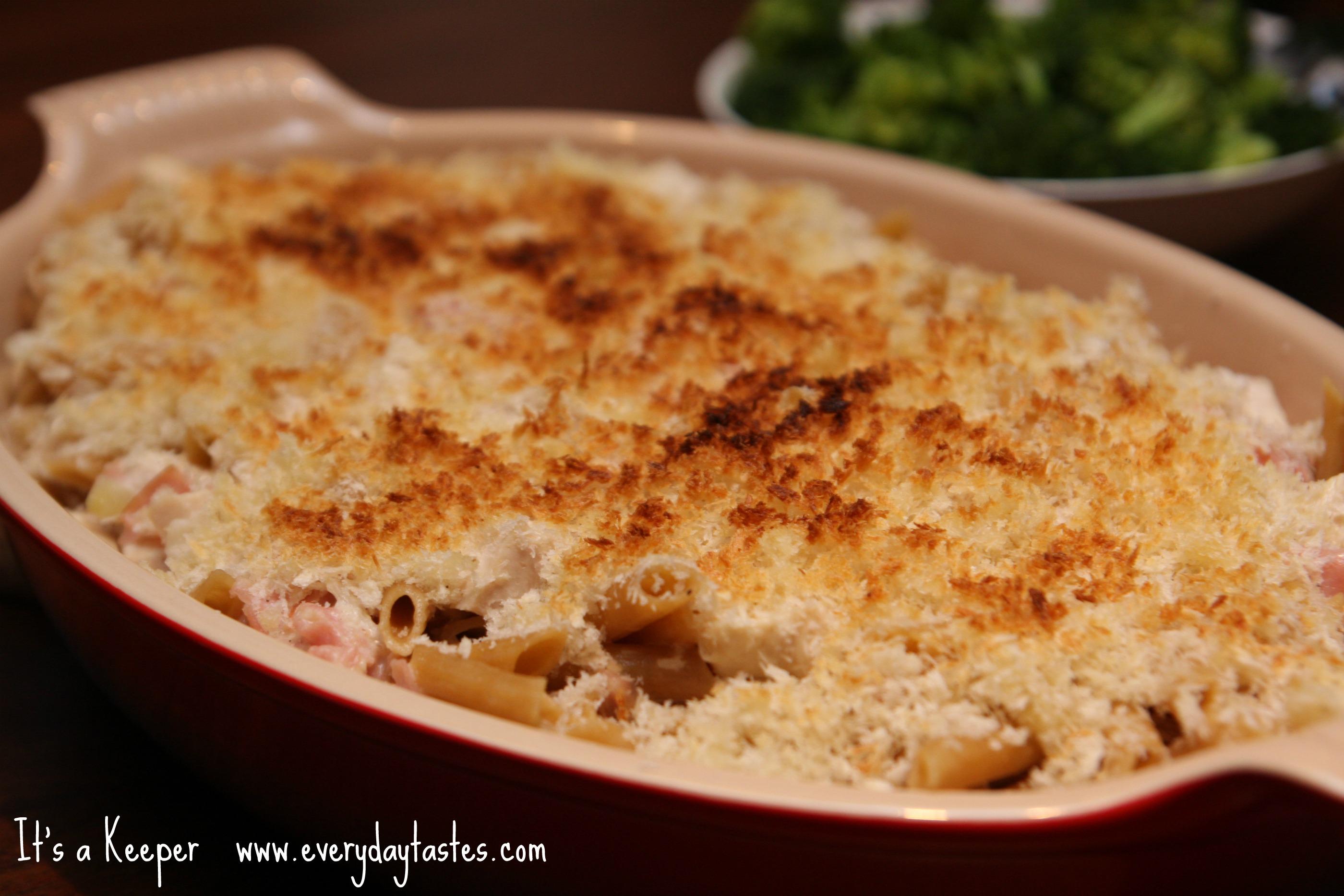 Pasta Cordon Bleu It's a Keeper