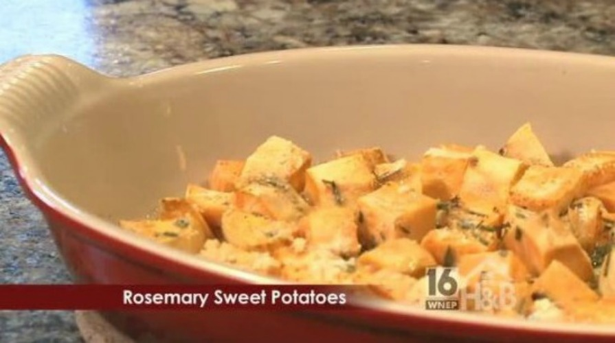 Rosemary Roasted Sweet Potatoes | It is a Keeper