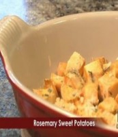 Rosemary Sweet Potatoes - It Is a keeper FEAT