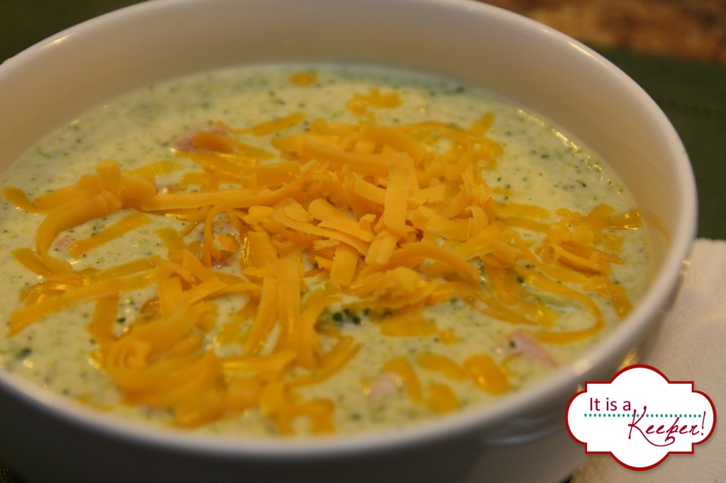 Broccoli Cheddar Soup It's a Keeper