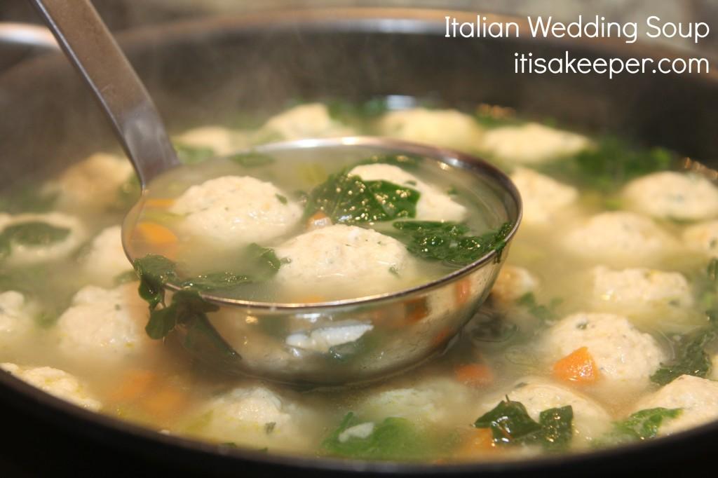 Italian Wedding Soup It's a Keeper