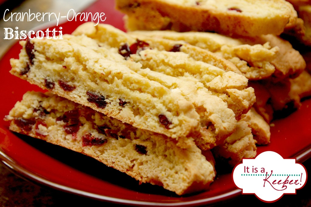 Cranberry Orange Biscotti It's a Keeper