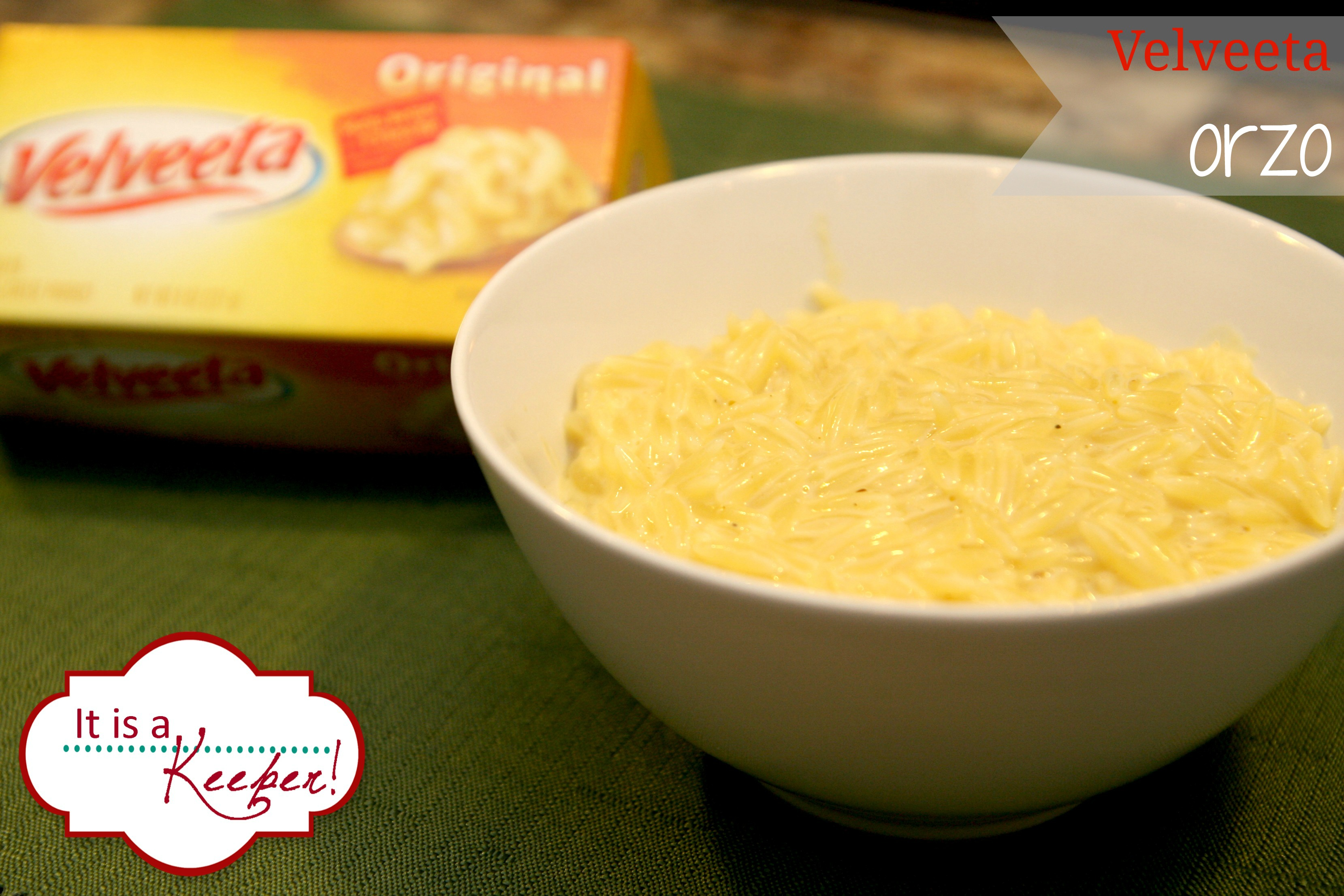 Easy Cheesy Orzo