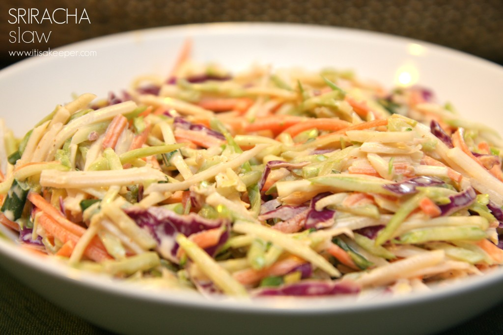 Sriracha Slaw from It's a Keeper