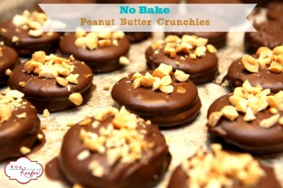 No Bake Peanut Butter Crunchies