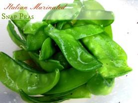 Italian Marinated Snap Peas It's a Keeper