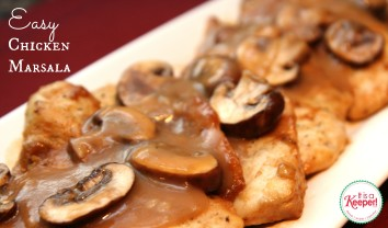 Easy Chicken Marsala It's a Keeper
