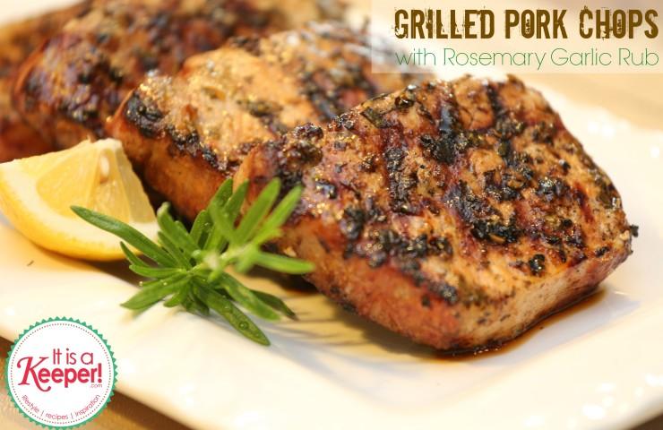 Thyme-Rubbed Pork Chops With Pesto Recipe — Dishmaps