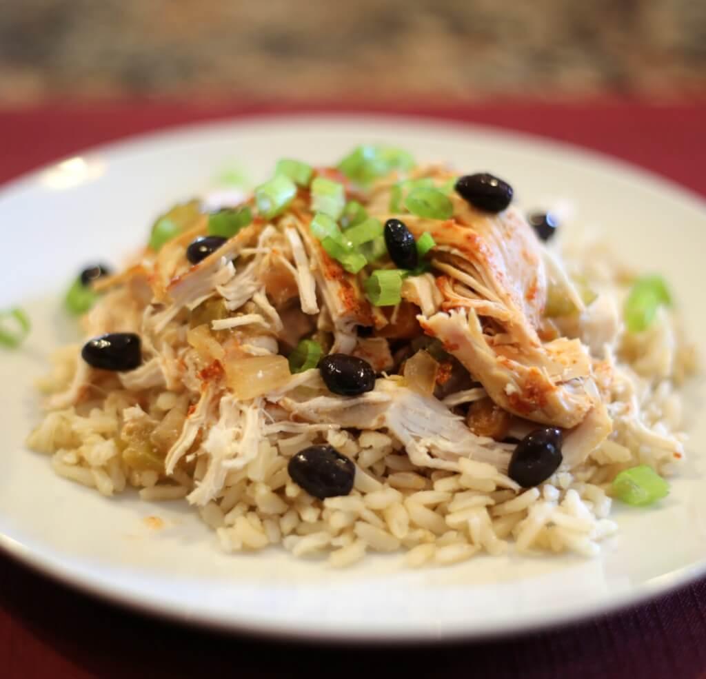 Crock Pot Chicken Recipes Easy: Slow Cooker Fiesta Chicken
