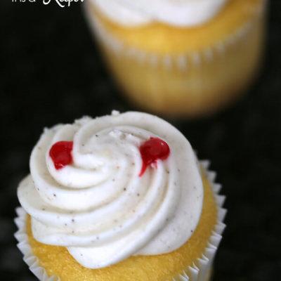 Vampire Halloween Cupcakes
