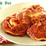 Easy Crock Pot Recipes: Crock Pot Ravioli