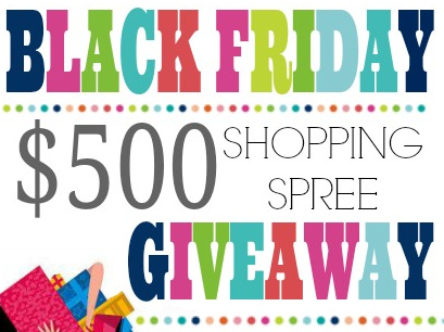 Black Friday $500 Cash Giveaway