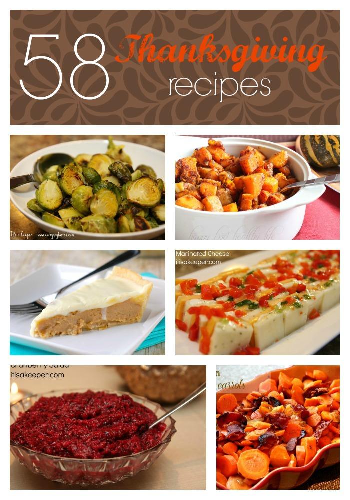 58 Thanksgiving Recipes