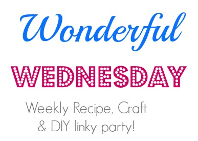 Wonderful Wednesday {# 7}