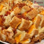 bacon ranch pull apart bread it's a keeper