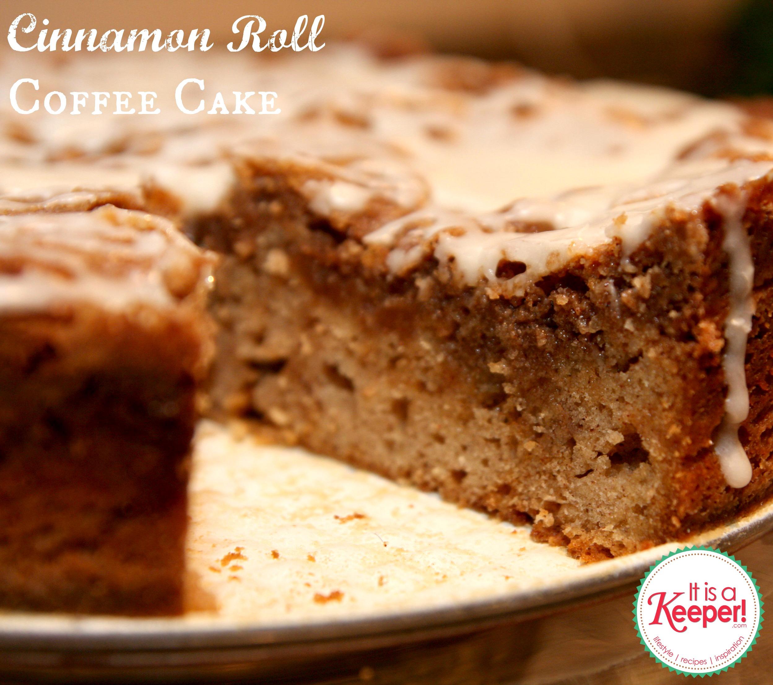 Holiday Recipes: Cinnamon Roll Coffee Cake