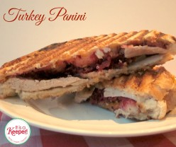 Leftover Turkey Recipes Turkey Panini It's a Keeper
