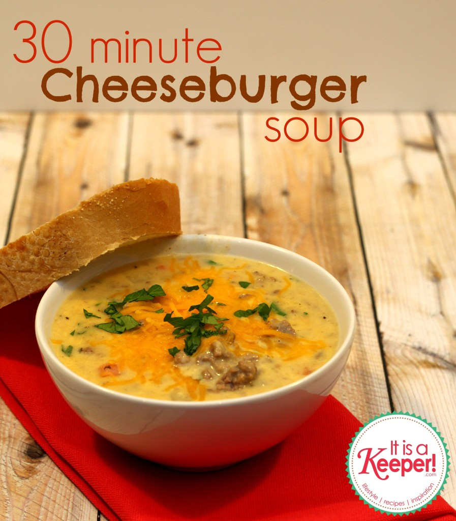 Cheeseburger Soup | It Is a Keeper