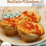 Easy Dinner Ideas: Buffalo Chicken Puffs