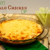 {SKINNY} Easy Buffalo Chicken Dip Recipe