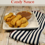 Chicken Tenders with Candy Sauce