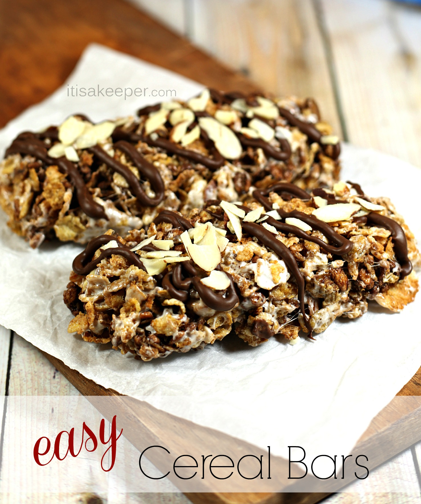 Easy Breakfast Recipes: Cereal Bars