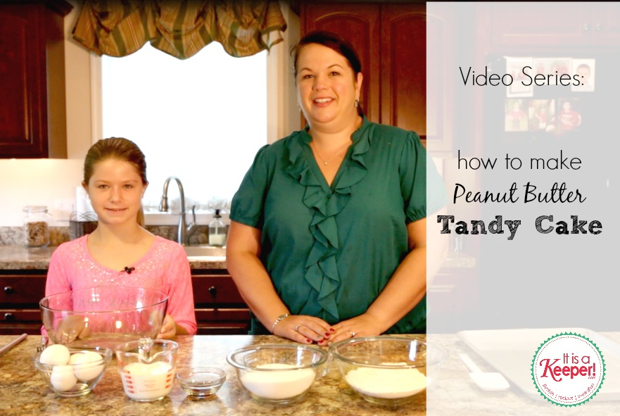 {VIDEO:} Peanut Butter Tandy Cake