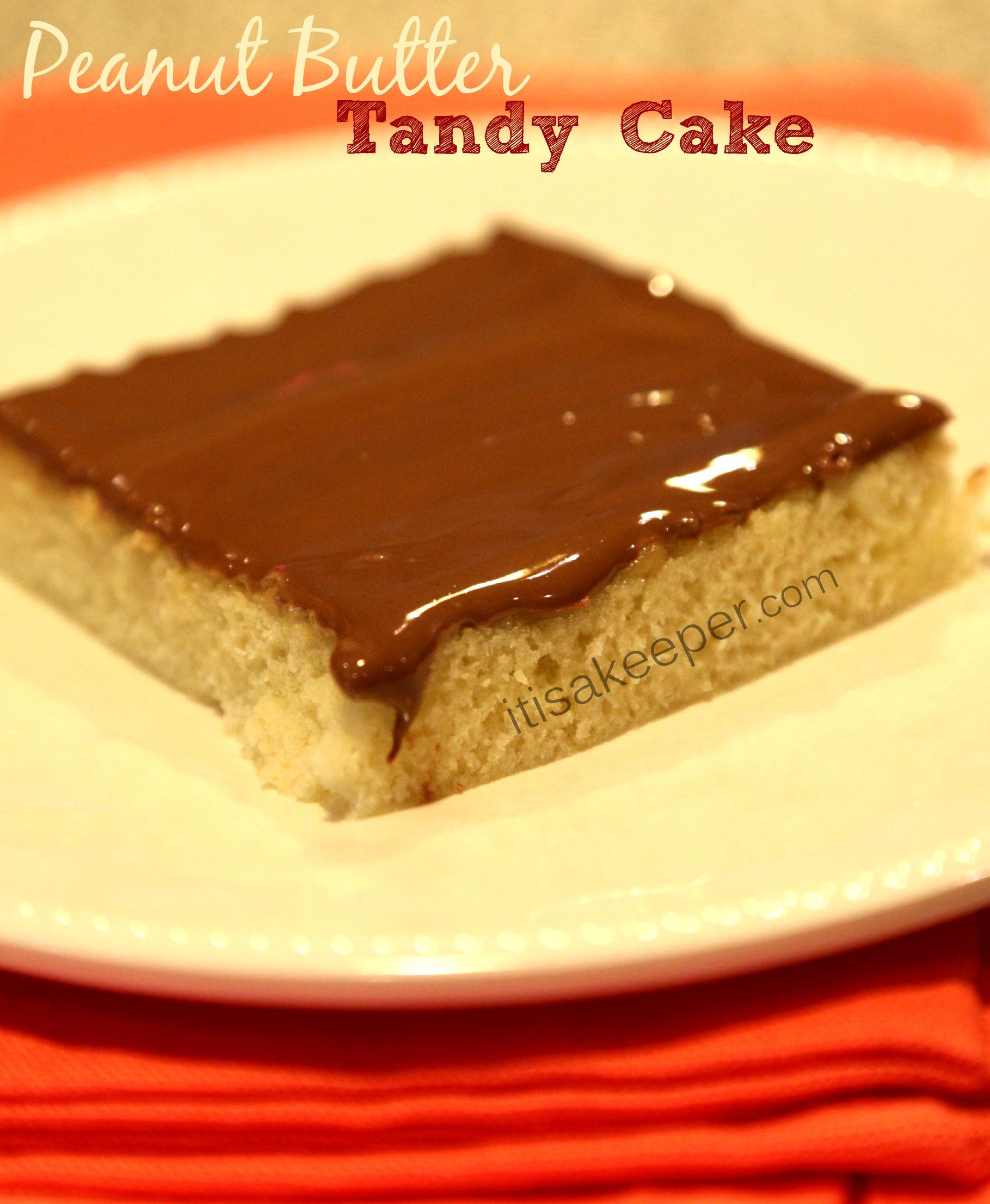 Peanut Butter Tandy Cake Recipe