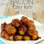 Easy Party Appetizers Sweet Bacon Tater Tots from It's a Keeper