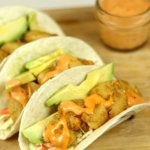 Shrimp Tacos with Boom Boom Sauce FEATURED