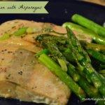 Easy Salmon Recipes:  Baked Salmon with Asparagus